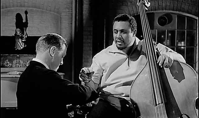 Charles Mingus and Richard Attenborough