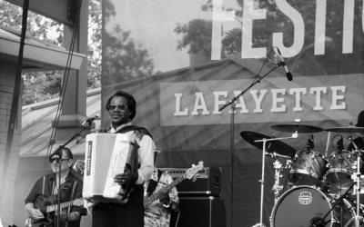 Buckwheat Zydeco at Festival International de Louisiane, Lafayette LA