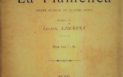 La Flamenca by Creole Composer Lucien-Leon Lambert