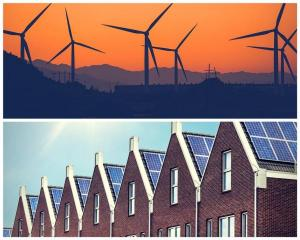 Wind and Solar power installations